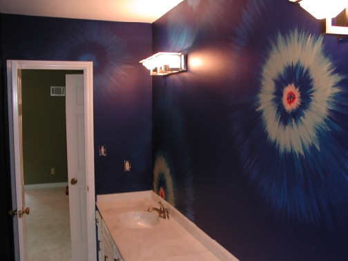 Pattern - Kids Tie-Dye Bathroom