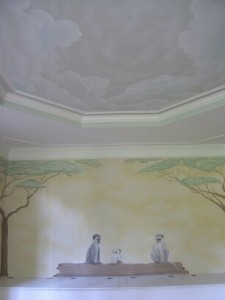 Kids Mural - Serengeti Nursery