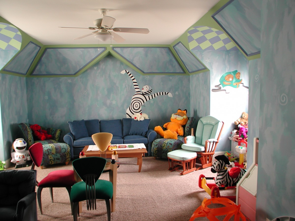 Kids Mural - Playroom