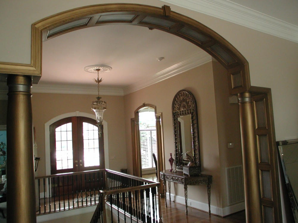 Metallic - trim and columns
