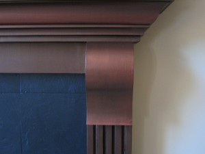 Metallic - Fireplace
