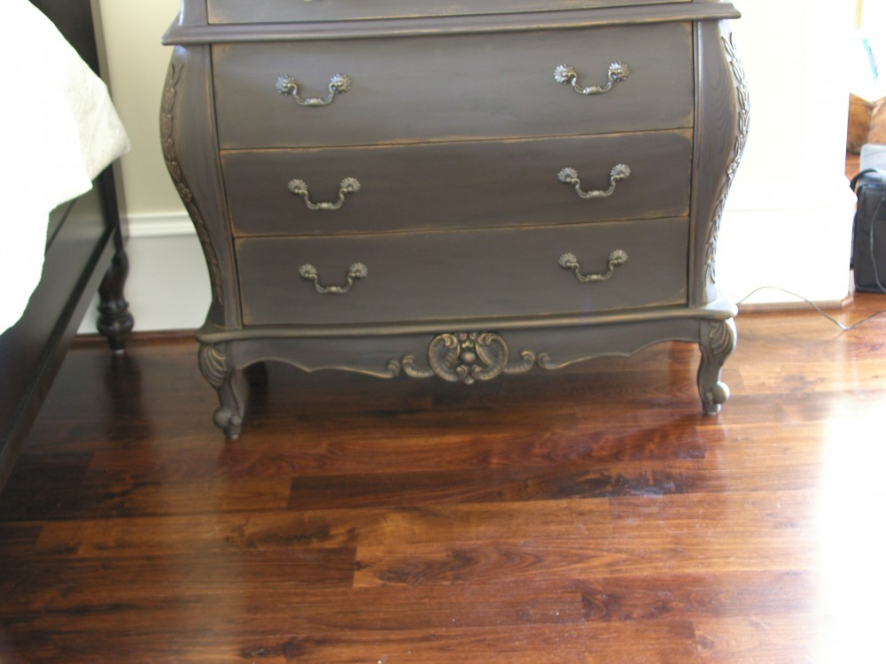 Aged and distressed Bedside Dresser