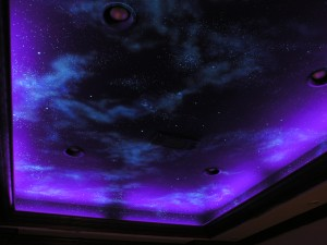 Theatre Night Sky Mural