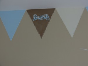 Kids Mural - Sports logo pennants