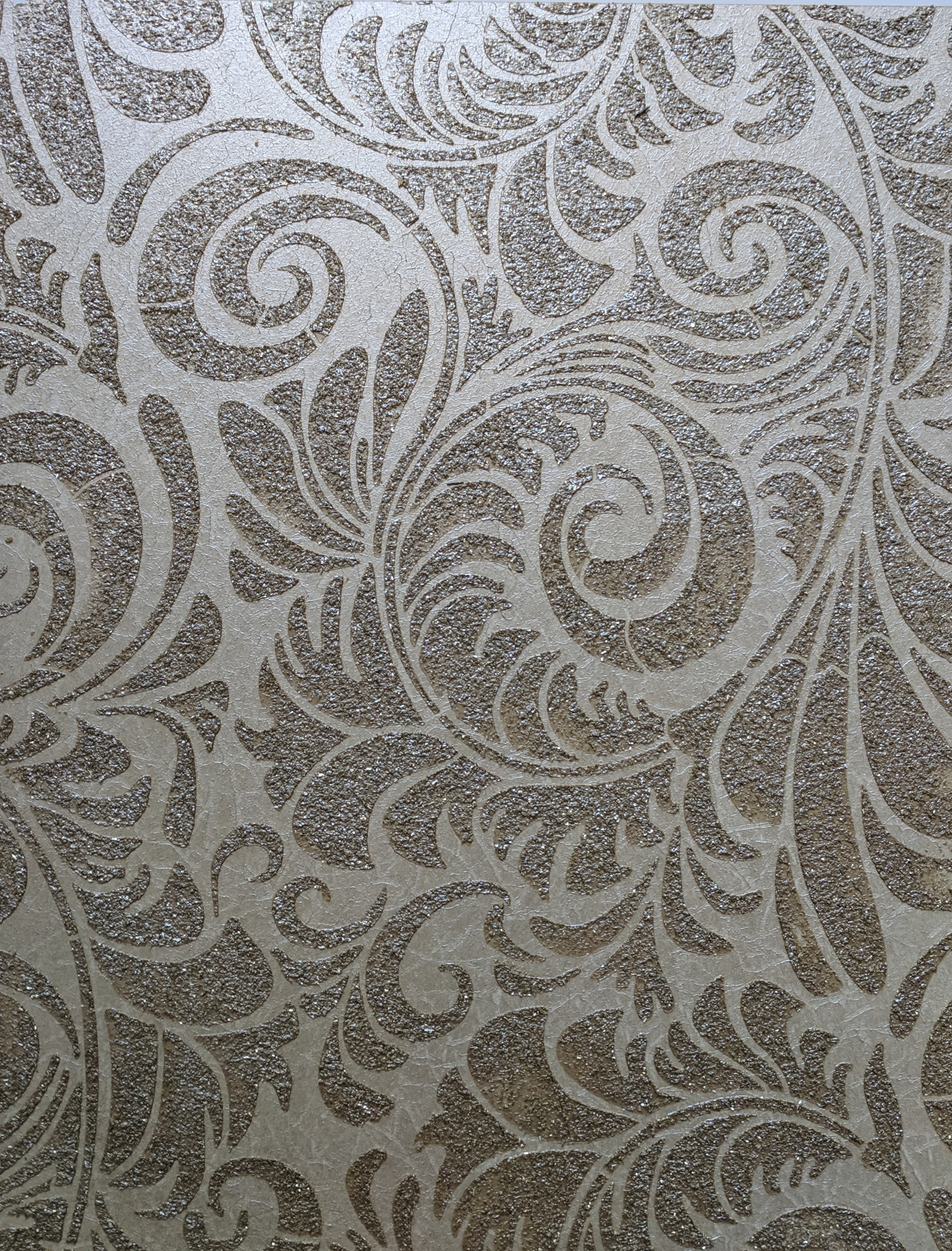 Glass  patterned plaster