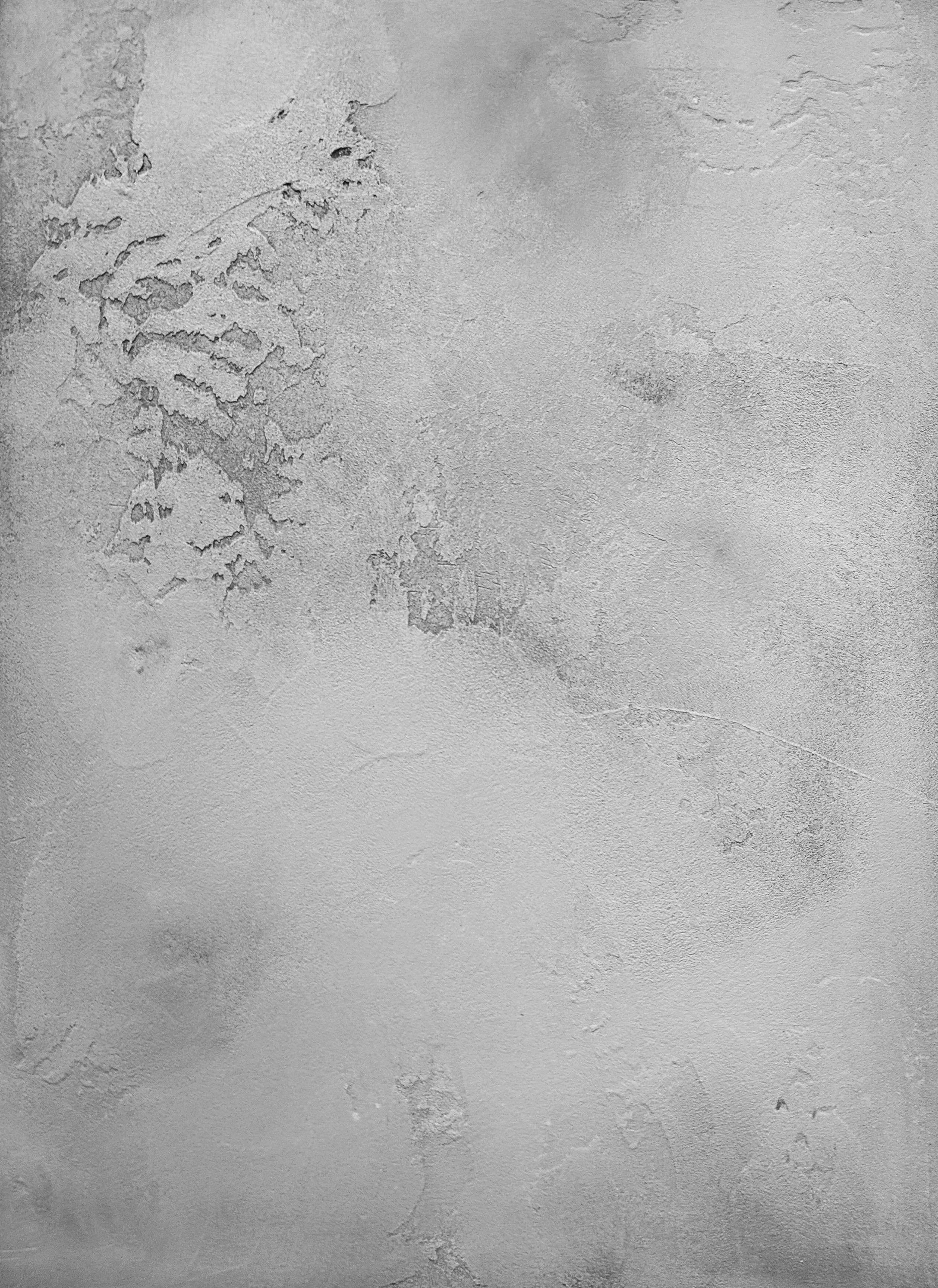 Textured plaster with glaze
